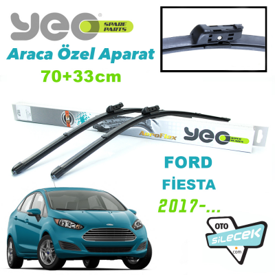 Ford Fiesta Silecek Takımı YEO 2017-...