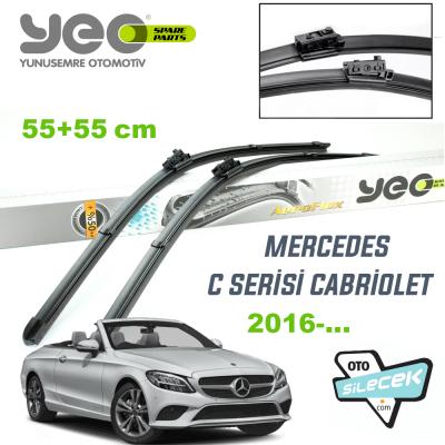 Mercedes C Serisi Cabrio YEO Aeroflex Silecek Takımı 2016-..
