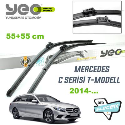 Mercedes C Serisi T-Model YEO Aeroflex Silecek Takımı 2014-..
