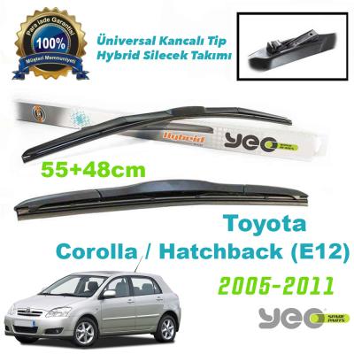 Toyota Corolla / Hatchback (E12) Hybrid Silecek Takımı YEO 2000-2008