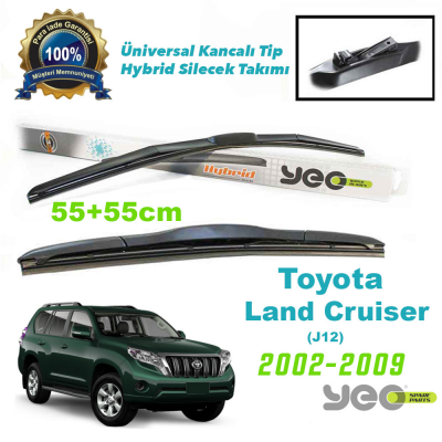 Toyota Land Cruiser (J12) YEO Hybrid Silecek 2002-2009