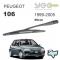 Peugeot 106 Arka Silecek Kolu 1999-2005