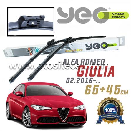 Alfa Romeo Giulia [952] YEO Ön Silecek Takımı 2016-..