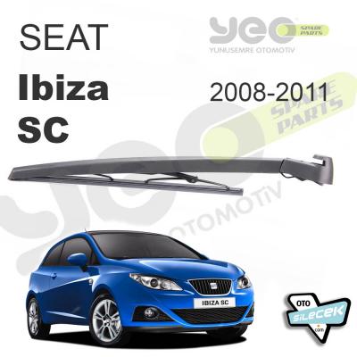 Seat Ibiza SC Arka Silecek ve Kolu 2008-2011