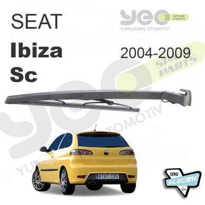 Seat Ibiza SC Arka Silecek ve Kolu 2004-2009