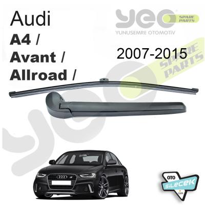 Audi A4 / Avant / Allroad Arka Silecek Kolu Set 2007-2015