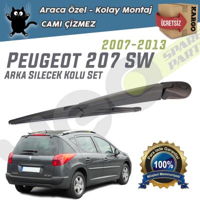 Peugeot 207 SW Arka Silecek Kolu ve Süpürgesi