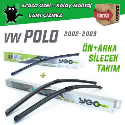 VW Polo 4 Ön & Arka Silecek Takımı 2001-2005