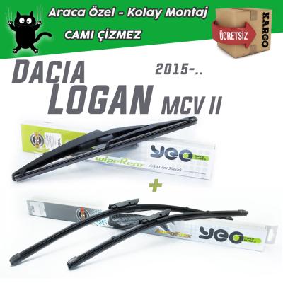 Dacia Logan 2 MCV Ön & Arka Silecek Takımı 2015-...