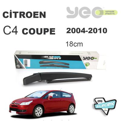 Citroen C4 Coupe HB Arka Silecek Kolu ve Süpürgesi 2004-2010