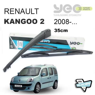 Renault Kangoo 2 Arka Silecek Kolu ve Süpürgesi 2008-...
